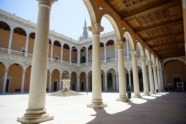Foto del Alcázar de la ciudad de Toledo en Castilla-La Mancha