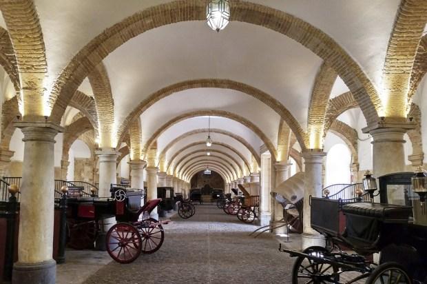Foto de las Caballerizas Reales de la Ciudad de Córdoba en Andalucía