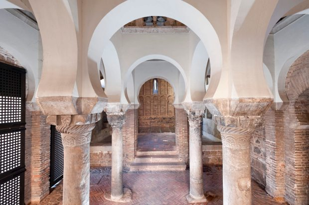 Foto de la mezquita de Bab al-Mardum o Cristo de la Luz de la ciudad de Toledo en Castilla-La Mancha