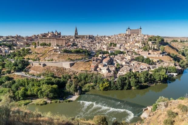 Foto del Mirador del Valle de la ciudad de Toledo en Castilla-La Mancha