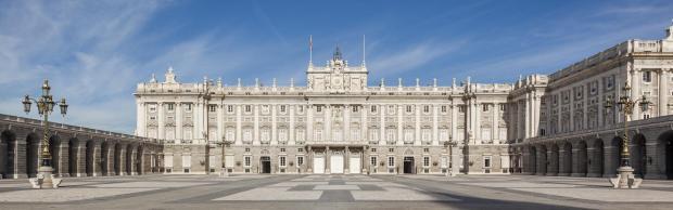 Foto del Palacio Real de la ciudad de Madrid