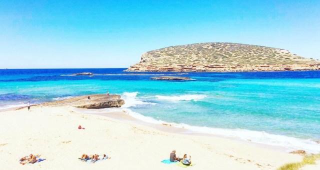 Playa de Cala Conta en Ibiza