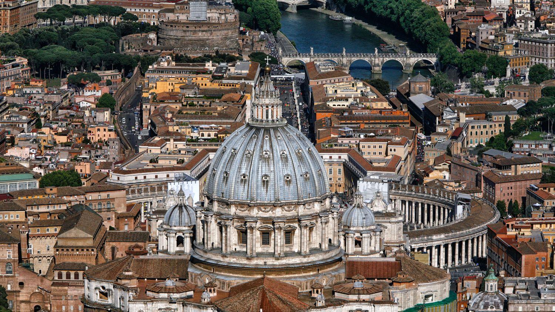 Vista Panoramica Exterior del Vaticano