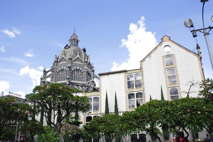 Por el centro de Medellín