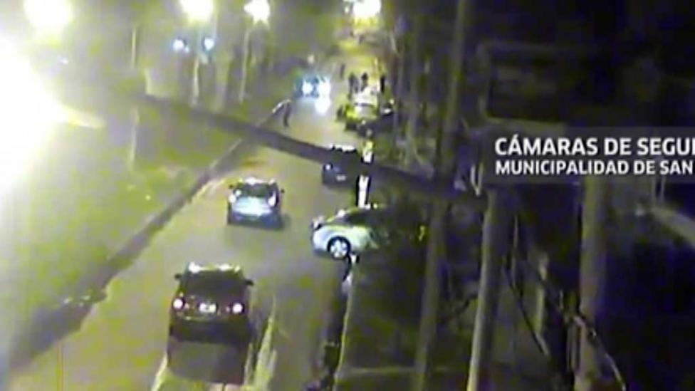 El video del robo al médico que mató a un ladrón en Loma Hermosa