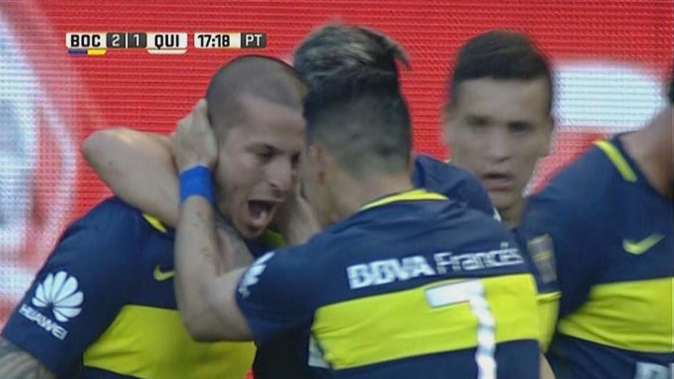 El segundo gol de Benedetto