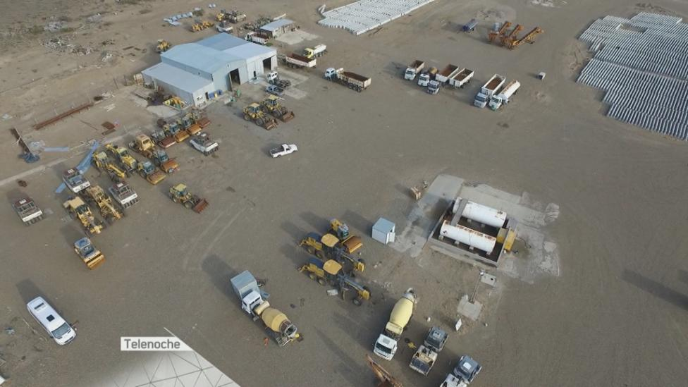 ABANDONO. Así es el panorama de Austral Construcciones ahora.