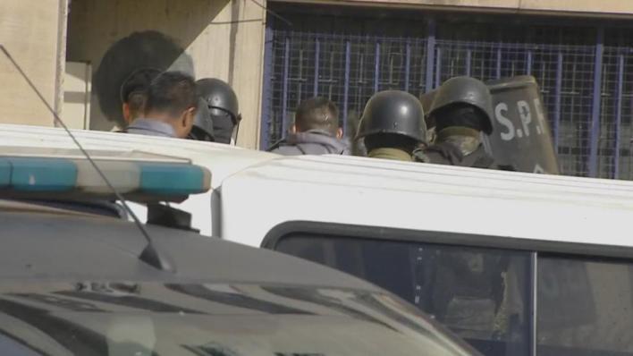 Llegó Báez a Comodoro Py: operativo de seguridad y expectativa por su declaración