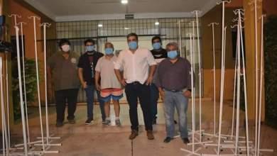 Photo of La escuela Técnica O.E.A realizó la entrega de 30 porta sueros