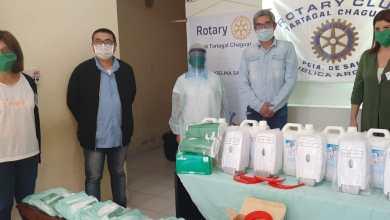 Photo of El Rotary Club Chaguar realizo una donación al hospital de Santa Victoria Este.