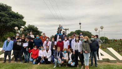 Photo of Ni héroes ni asesinos, somos médicos- Marcharon por las calles de Tartagal