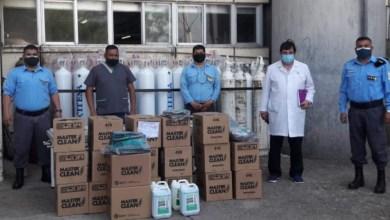 Photo of #Orán-Penitenciarios donaron elementos de bioseguridad al hospital