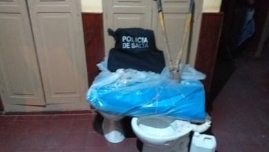 Photo of Aguaray: Recuperan elementos robados