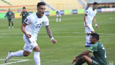 Photo of Eliminatorias Qatar 2022: Argentina le gano a Bolivia en la altura de La Paz.