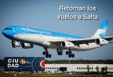 Photo of Salta: Luego de siete meses llega el primer vuelo comercial.