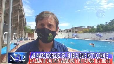 Photo of Verano 2021: Pileta para los chicos en las Colonias de Vacaciones Municipal