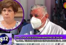 "Photo of Ministro Esteban: ""La doctora tendrá que responder al juez"""
