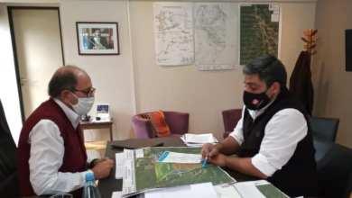 Photo of Se firmaron proyectos por canal para B° Santa María y colectora para planta depuradora sur