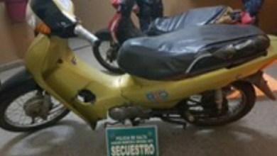 Photo of #TARTAGAL: MOTOCICLETA RECUPERADA