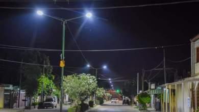 Photo of Avenida central en Villa Saavedra totalmente iluminada