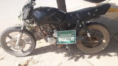 Photo of Moto robada recuperada en control policial