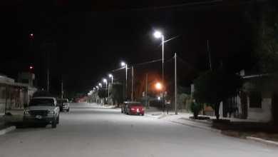 Photo of Pavimento y nuevas luminarias en Subtte. Berdina que se suman a las obras del municipio