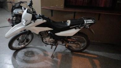 Photo of Dos detenidos por el robo de una motocicleta