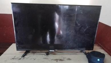 Photo of Detuvieron a una persona con un televisor robado