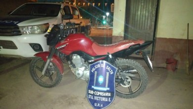 Photo of Se recupero una motocicleta en Santa Victoria robada en Tartagal