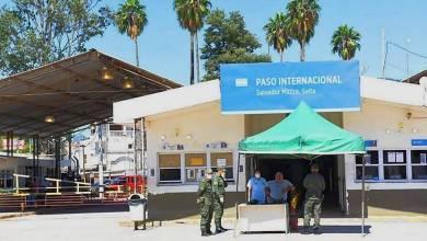 Photo of Habilitan el paso en la Frontera de Salvador Mazza- Yacuiba