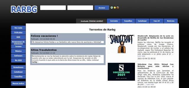Alternativas-DonTorrent-RARBG