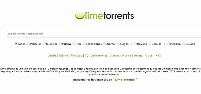 LimeTorrents-Alternativas-a-EliteTorrent