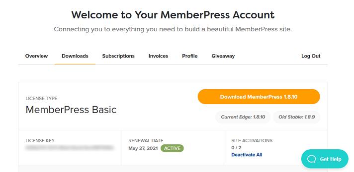cuenta memberpress