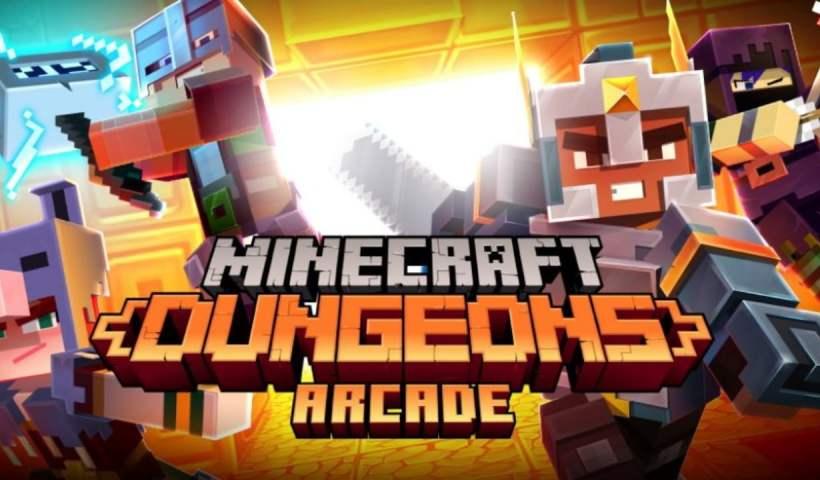 Minecraft Dungeons tendrá su máquina recreativa • Minecraft.fr