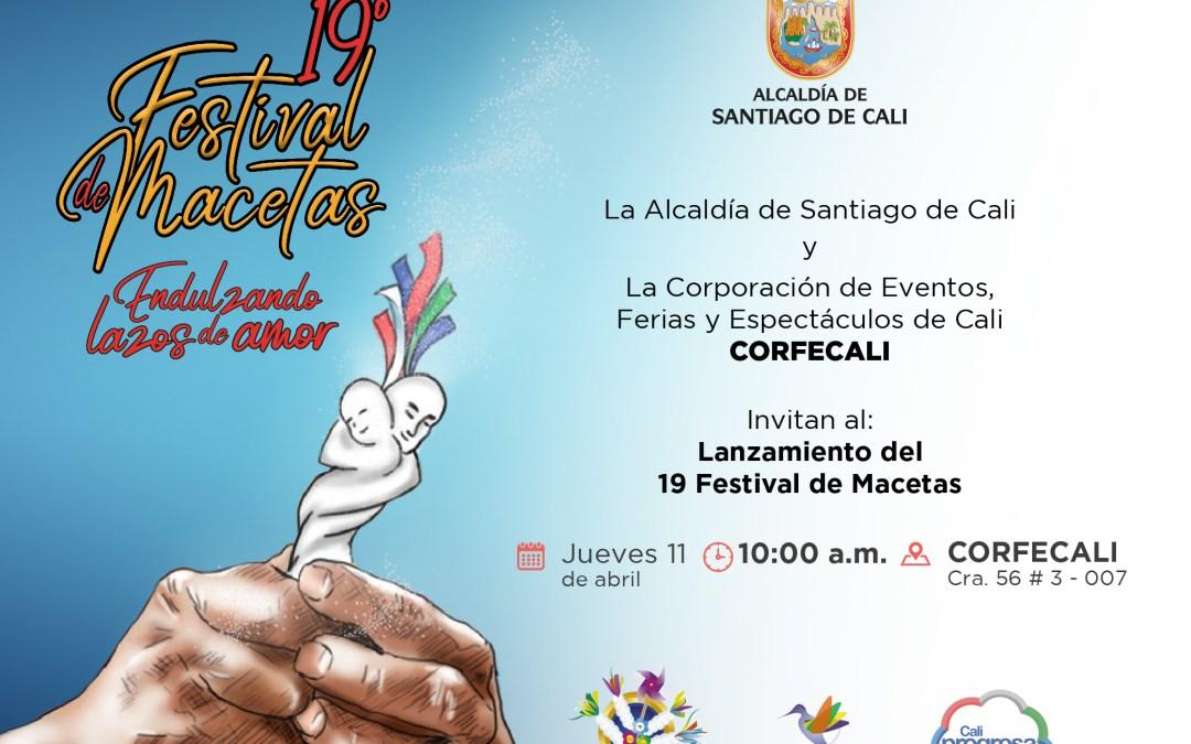 EL 11 DE ABRIL SE DARÁ A CONOCER LA IMAGEN OFICIAL DEL 19 FESTIVAL DE MACETAS