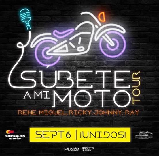 SÚBETE A MI MOTO  TOUR