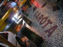 Calzada del bar Garota de Ipanema. 2009