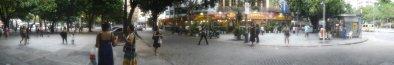 Los alrededores del Largo do Machado. Enero de 2012