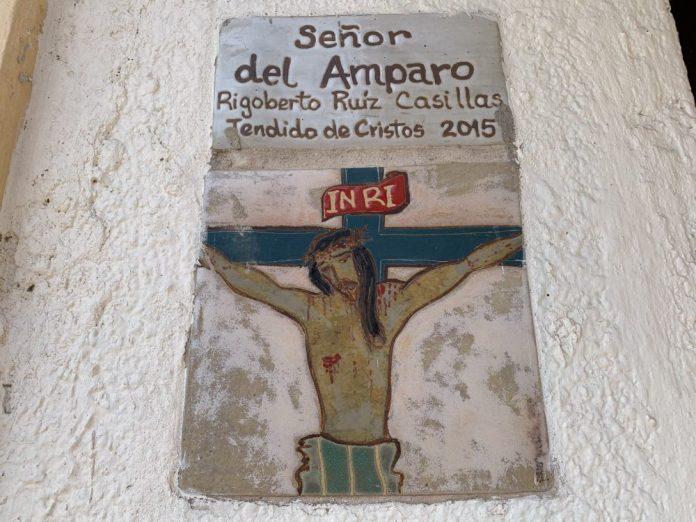 Tendido de Cristos, en San Martín Hidalgo