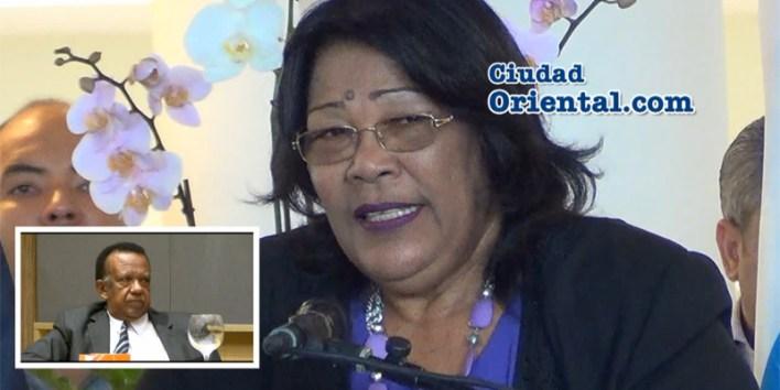 Ana Tejeda ante el cadáver de Catalino Sánchez