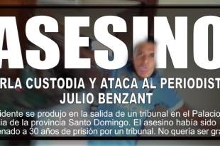 Asesino ataca al periodista Julio Benzant