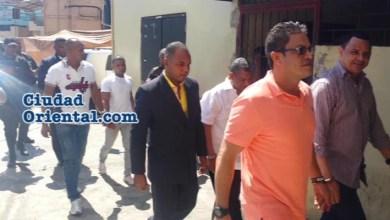 Imputados en el Caso Dican llegan al Palacio de Justicia