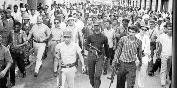 Pueblo dominicano en armas en 1965