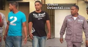 Los dos hombres implicados en rapto y posterior robo.