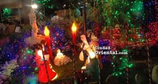Nacimiento en el Jardin de Angelita y Tony Rodriguez