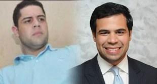 John Pércival Matos (i) y Roberto Angel Salcedo