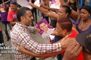 Luis Alberto Tejeda en campaña (Foto de archivo)
