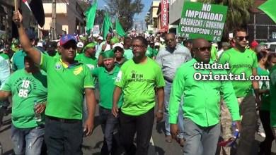 Photo of Vídeo – Por este motivo fue cambiada la ruta de la marcha