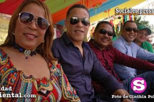 regidores en figurero en el Carnaval de SDE