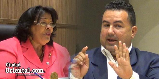 Ana Tejeda y Daneris Santana
